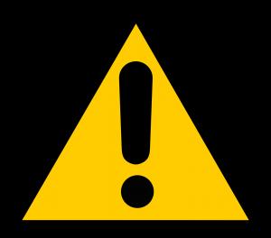 indemnity warning