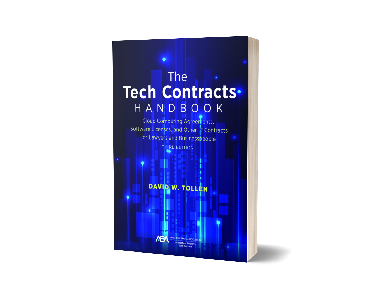 Cover of 3rd edition of The Tech Contracts Handbook.
