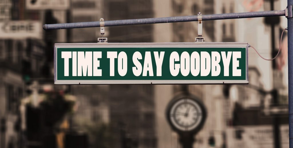 terminate for convenience: time to day goodbye