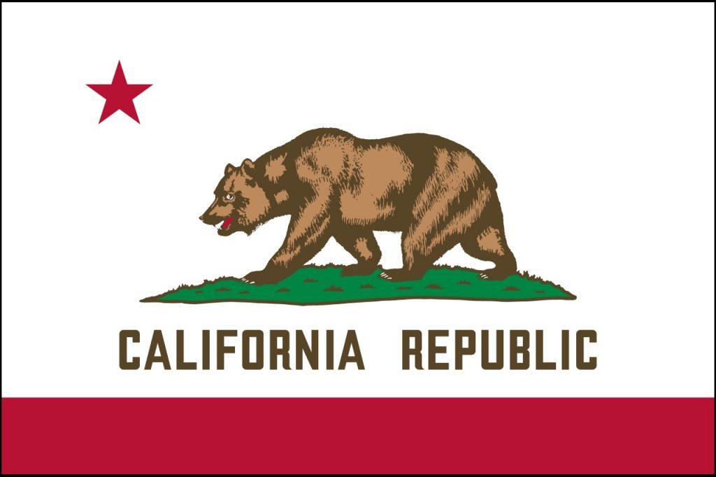 The CA flag: California law ain't bad